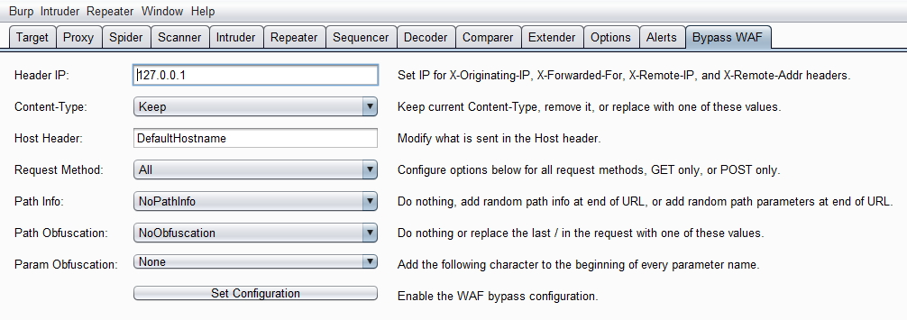Bypass WAF: Burp Plugin to Bypass Some WAF Devices